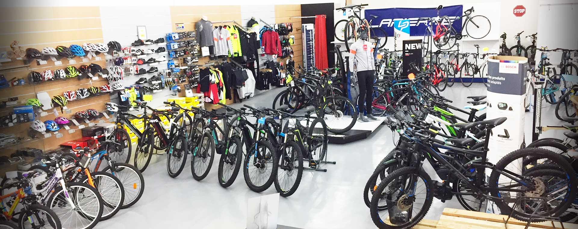 magasin de vélos route et vtt dans le cantal