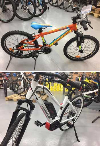 magasin gamme vélos assistance électrique VAE cantal saint flour